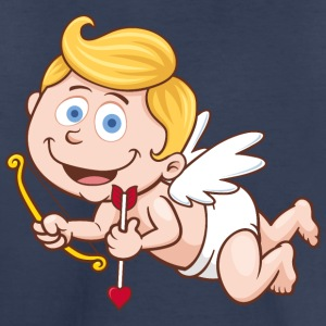 smile-cupid-wings-heart-bow - Toddler Premium T-Shirt