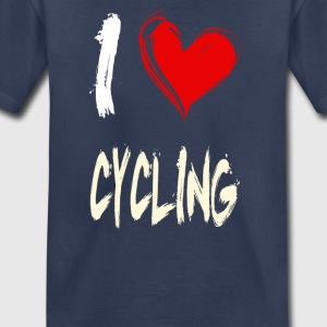 I love CYCLING - Toddler Premium T-Shirt