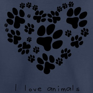 Funny Pets - I Love Animals - Toddler Premium T-Shirt