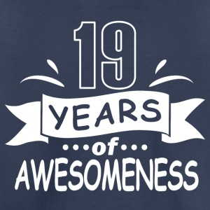 19 years of awesomeness - Toddler Premium T-Shirt
