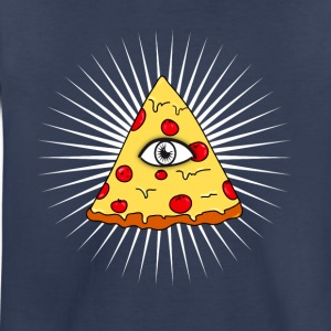 illuminati pizza All Seeing eye food Pyramide illu - Toddler Premium T-Shirt
