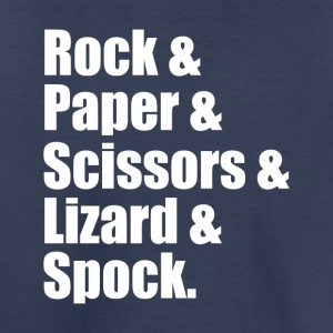 Rock Paper Scissors Lizard Spock - Toddler Premium T-Shirt