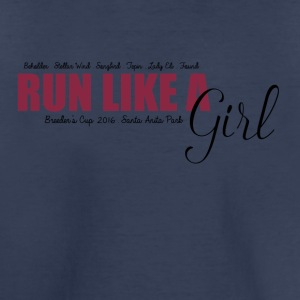 Run Like A Girl Breeders Cup 2016 - Toddler Premium T-Shirt