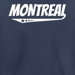 Montreal Retro Comic Book Style Logo - Toddler Premium T-Shirt