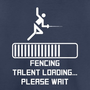 Fencing Talent Loading - Toddler Premium T-Shirt