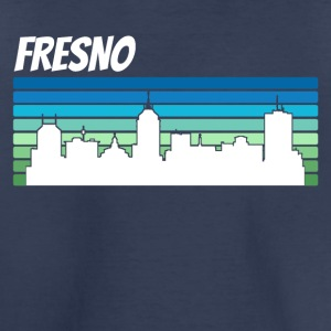 Retro Fresno Skyline - Toddler Premium T-Shirt