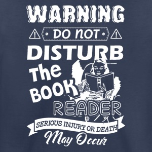 Book Reader Shirt - Toddler Premium T-Shirt