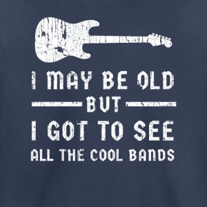 All the Cool Bands - Toddler Premium T-Shirt