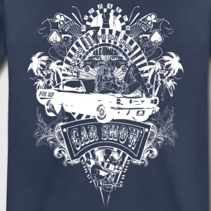 motor_show_cars_and_girls_white - Toddler Premium T-Shirt