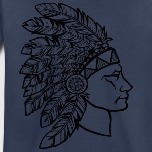 red_plumage_american_indian_black - Toddler Premium T-Shirt