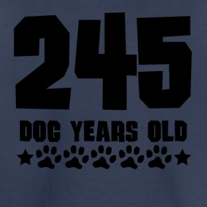 245 Dog Years Old Funny 35th Birthday - Toddler Premium T-Shirt