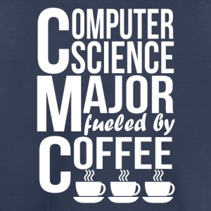 Computer Science Major Fueled By Coffee - Toddler Premium T-Shirt