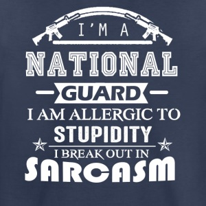 National Guard Sarcasm Shirt - Toddler Premium T-Shirt
