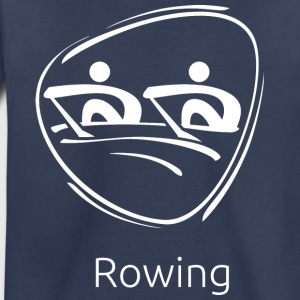Rowing_white - Toddler Premium T-Shirt