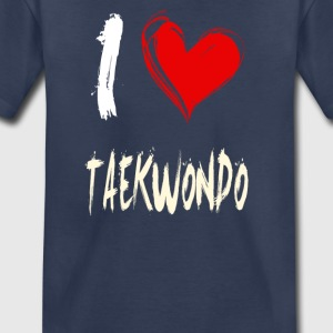 I love TAEKWONDO - Toddler Premium T-Shirt