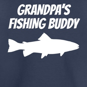 Grandpa's Fishing Buddy - Toddler Premium T-Shirt