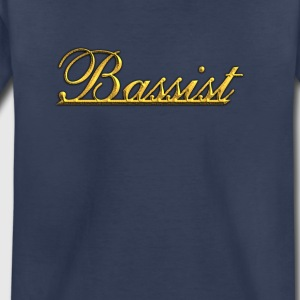 Golden Bassist - Toddler Premium T-Shirt