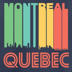 Retro Montreal Quebec Canada Skyline - Toddler Premium T-Shirt