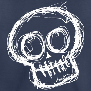 Sketchy Skull - Toddler Premium T-Shirt