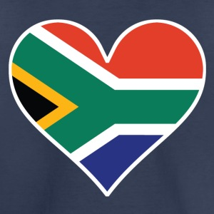 South African Flag Heart - Toddler Premium T-Shirt
