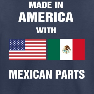 Made in America with Mexican parts shirt - Toddler Premium T-Shirt