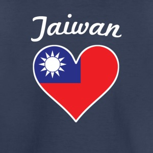 Taiwan Flag Heart - Toddler Premium T-Shirt