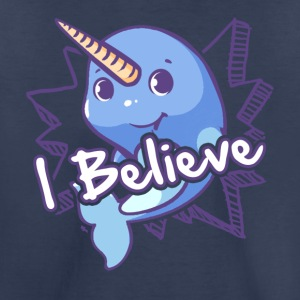 I Believe Narwhal Shirt - Toddler Premium T-Shirt
