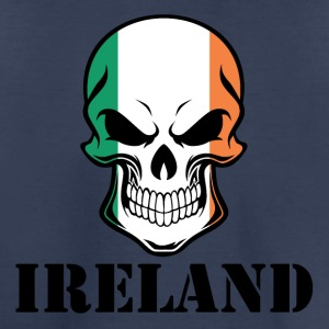 Irish Flag Skull Ireland - Toddler Premium T-Shirt