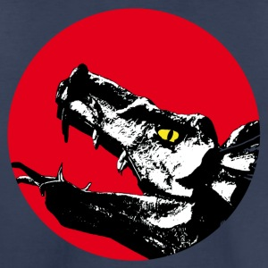 dragon head on red - Toddler Premium T-Shirt