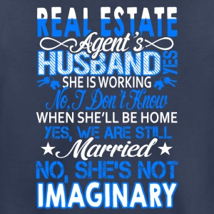 Real Estate Agent's Husband Shirt - Toddler Premium T-Shirt