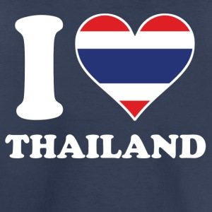 I Love Thailand Thai Flag Heart - Toddler Premium T-Shirt
