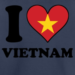 I Love Vietnam Vietnamese Flag Heart - Toddler Premium T-Shirt