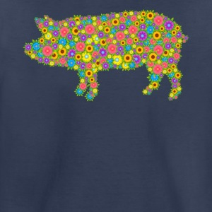 Pig Flower Clothing - Toddler Premium T-Shirt