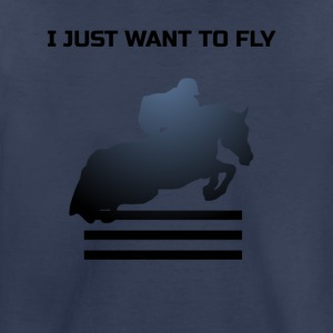 WANT TO FLY - Toddler Premium T-Shirt