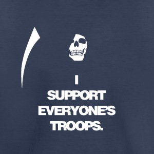 Death supports everyone's troops - Toddler Premium T-Shirt