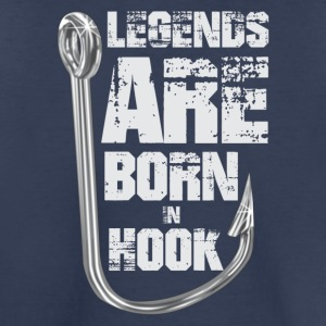 Legends Are Born in HOOK - Toddler Premium T-Shirt