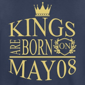 Kings are born on May 08 - Toddler Premium T-Shirt