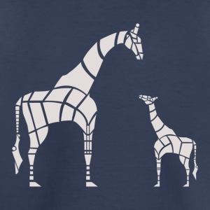 Giraffe Mother and Baby Variant - Toddler Premium T-Shirt