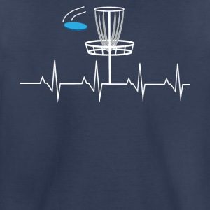 Disc golf heartbeat - Toddler Premium T-Shirt