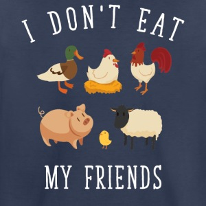 I don't eat my friends - Toddler Premium T-Shirt