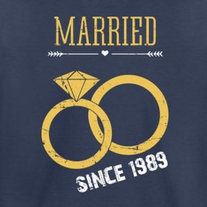 Married since 1989 - Toddler Premium T-Shirt
