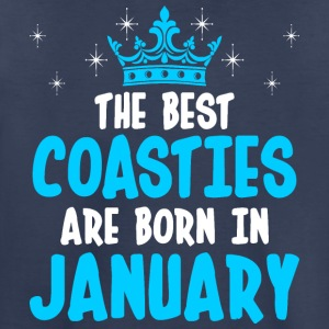 The Best Coasties Are Born In January - Toddler Premium T-Shirt