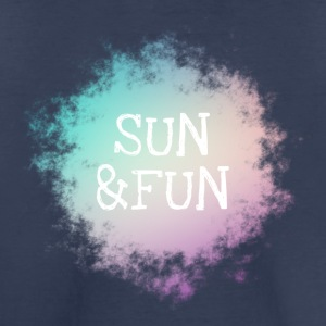Sun And Fun Summer Holiday Pastel Trendy - Toddler Premium T-Shirt