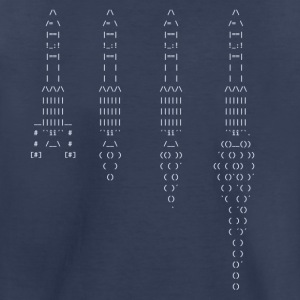 ASCII rocket - Toddler Premium T-Shirt