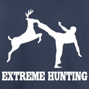 Extreme hunting deer karate kick - Toddler Premium T-Shirt