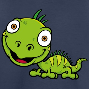 lizard-reptile-wildlife-animal-smiling - Toddler Premium T-Shirt