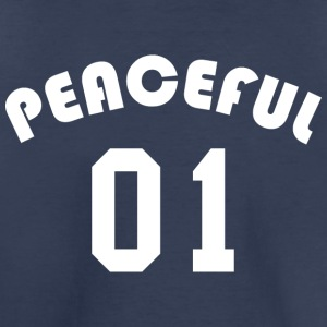 Peaceful 01 - Team Design (White Letters) - Toddler Premium T-Shirt