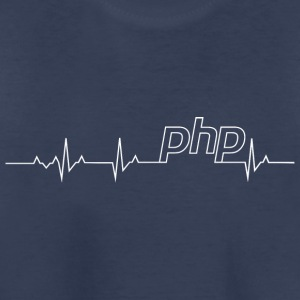 Php Heartbeat: Perfect shirt for Php Programmer - Toddler Premium T-Shirt