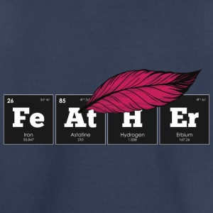 Periodic Elements: FeAtHEr - Toddler Premium T-Shirt