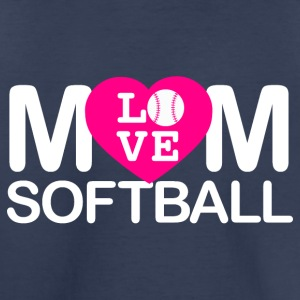 Mom love Softball - Toddler Premium T-Shirt